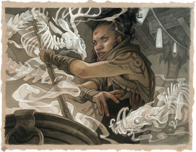 Wylie Beckert Playing Card Illustration Fine Art